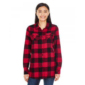 Burnside Woven Plaid Flannel – Ladies