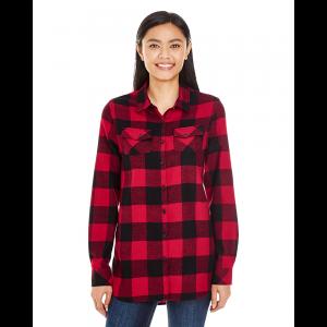 Burnside Woven Plaid Flannel – Ladies