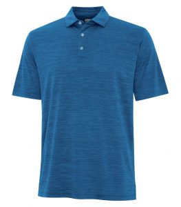 Callaway Broken Stripe Texture Polo – Men's